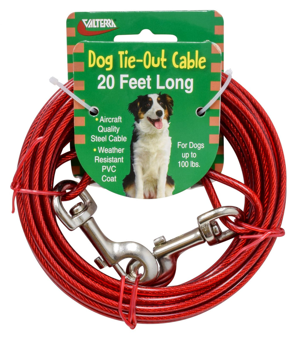 Dog Tie-Out Cable - 20' - A10-2011VP
