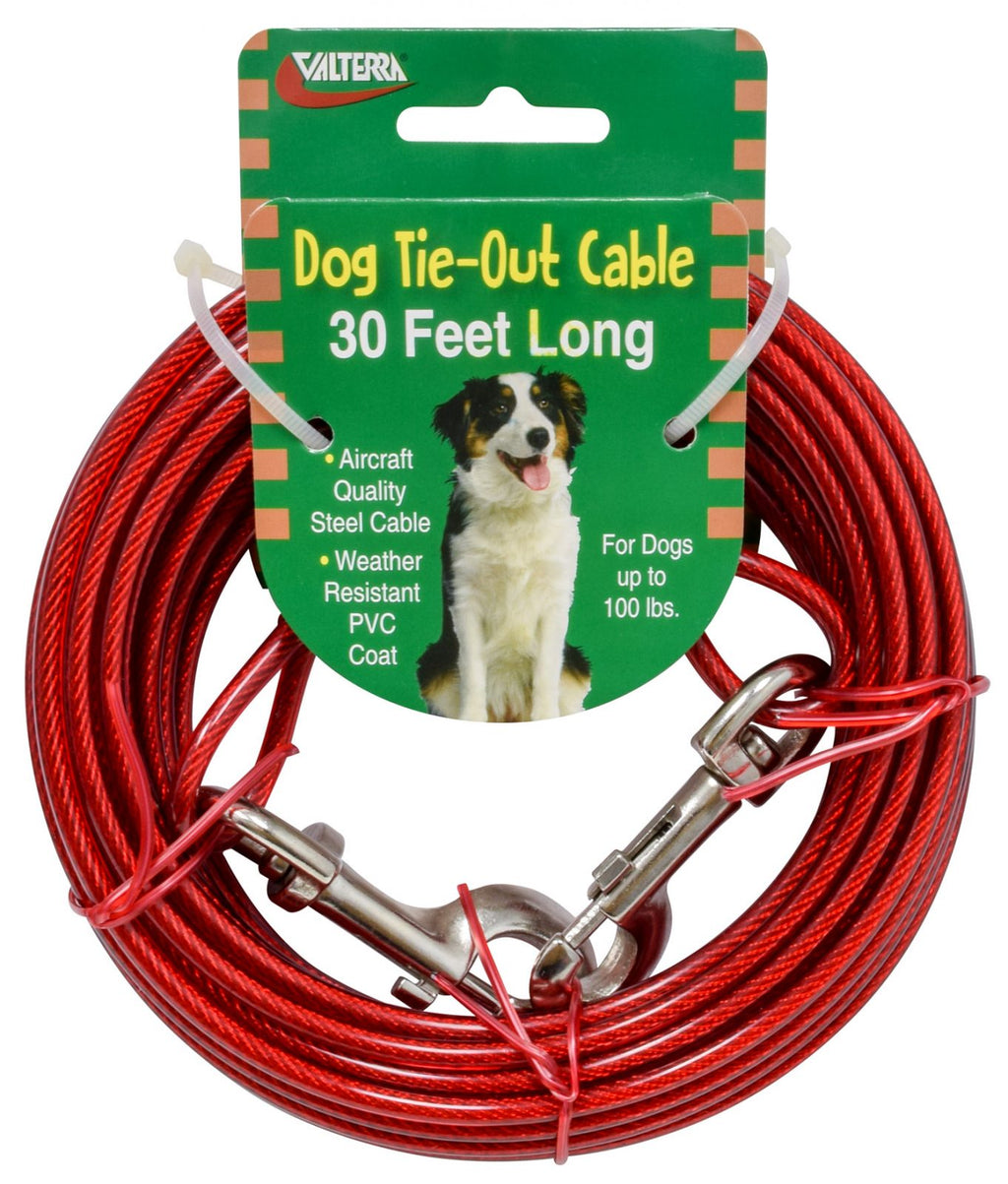 Dog Tie-Out Cable - 30' - A10-2012VP