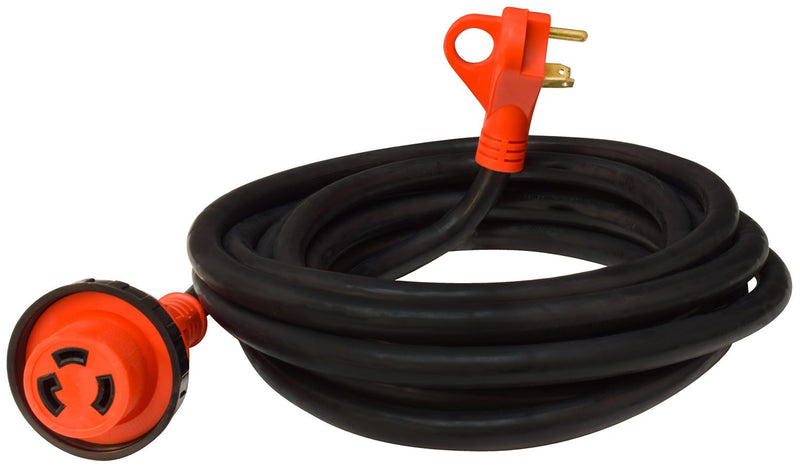 RV Power Cord 30 Amp Detachable Power Cord w/ Handle - 25'  A10-3025ED