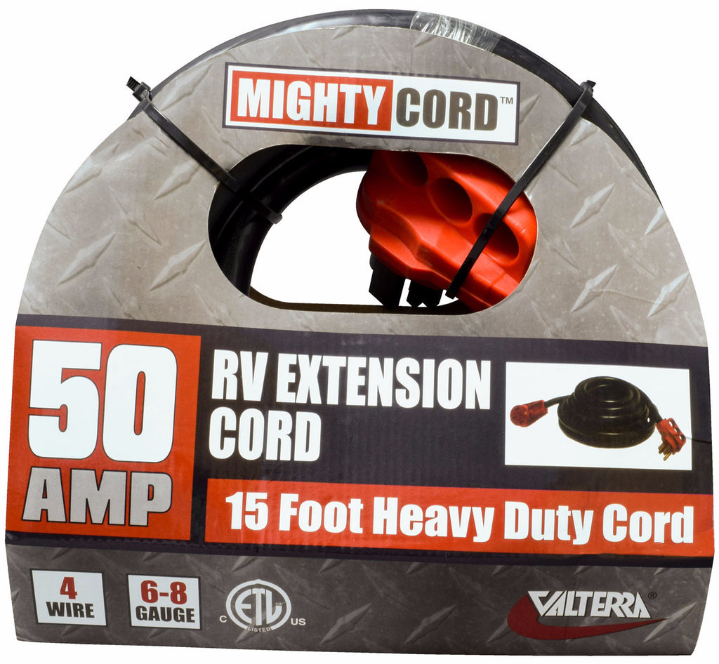 RV Extension Cord - 50 Amp 15 foot  A10-5015EH