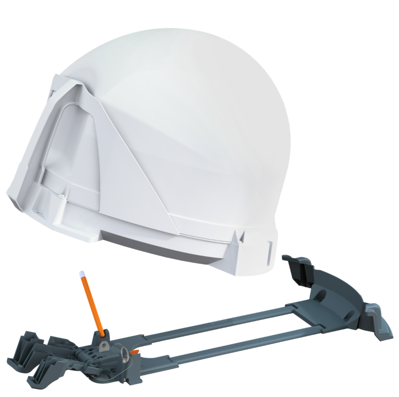 Quick Release Roof Mount Kit - King Portable Satellite Antenna