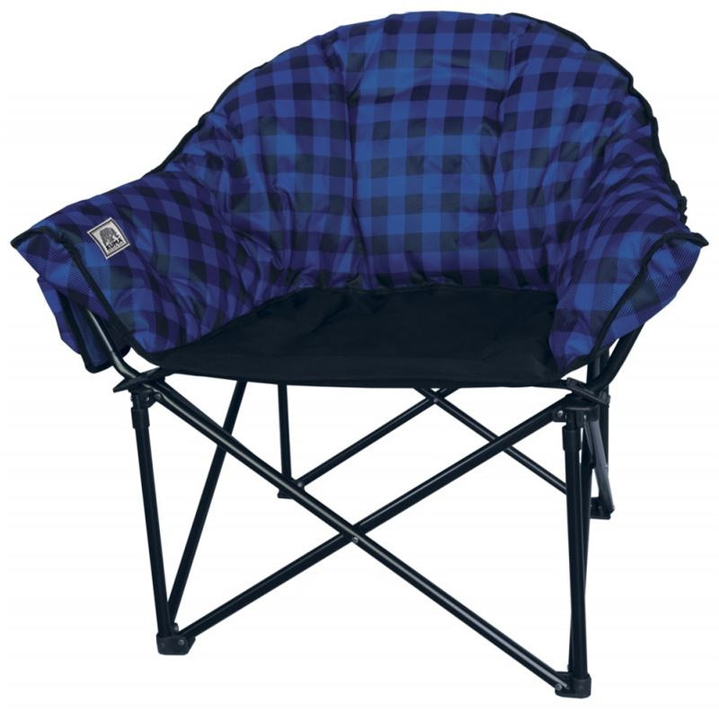 Lazy Bear Chair - Blue Plaid - 433-KM-LBCH-BLBP