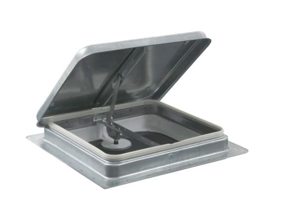 "RV Roof Vent 14"" x 14"" - Metal  75111-C1"