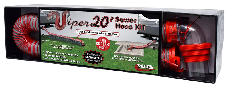 Viper RV Sewer Hose Kit - 20'  D04-0475
