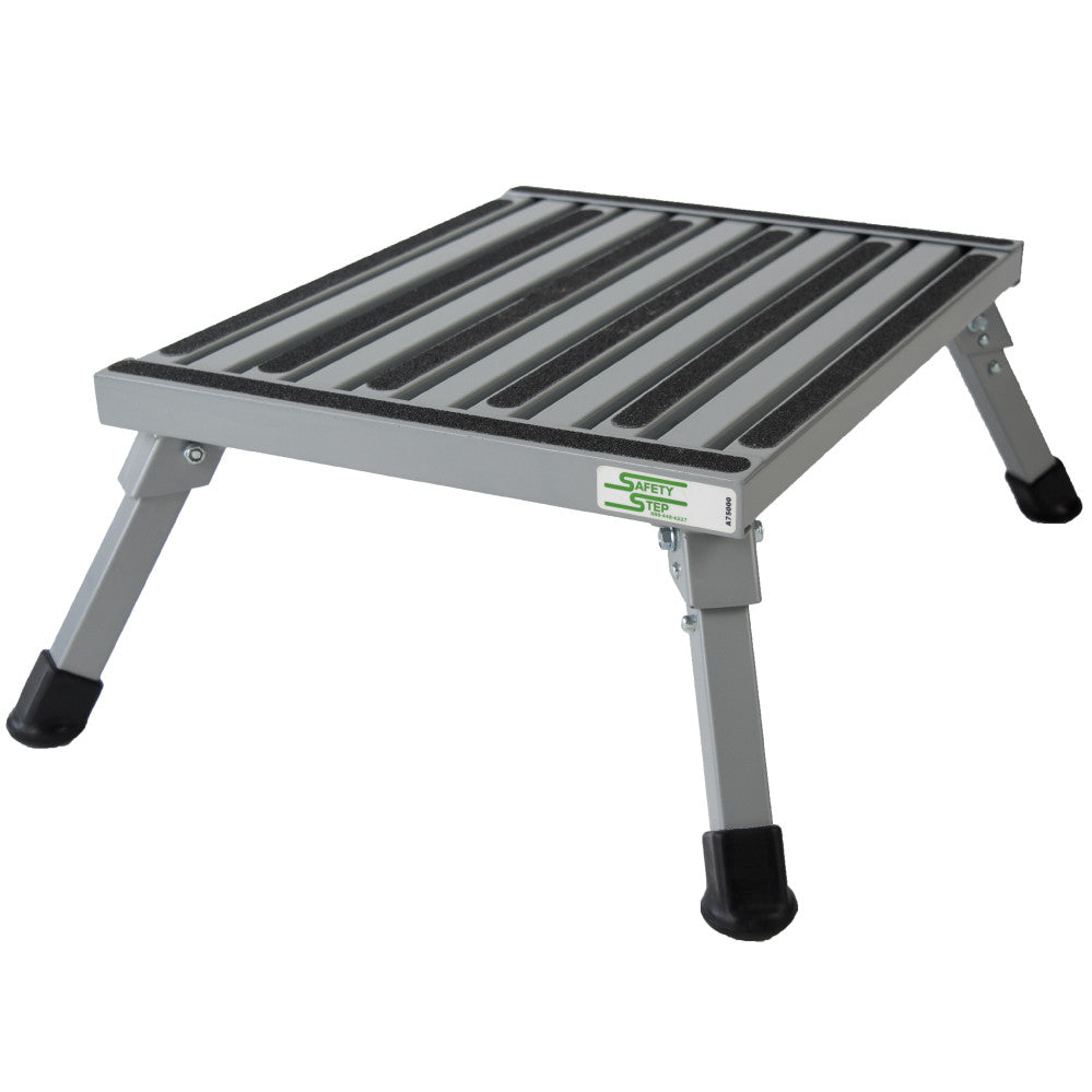 Safety Step Stool - Silver