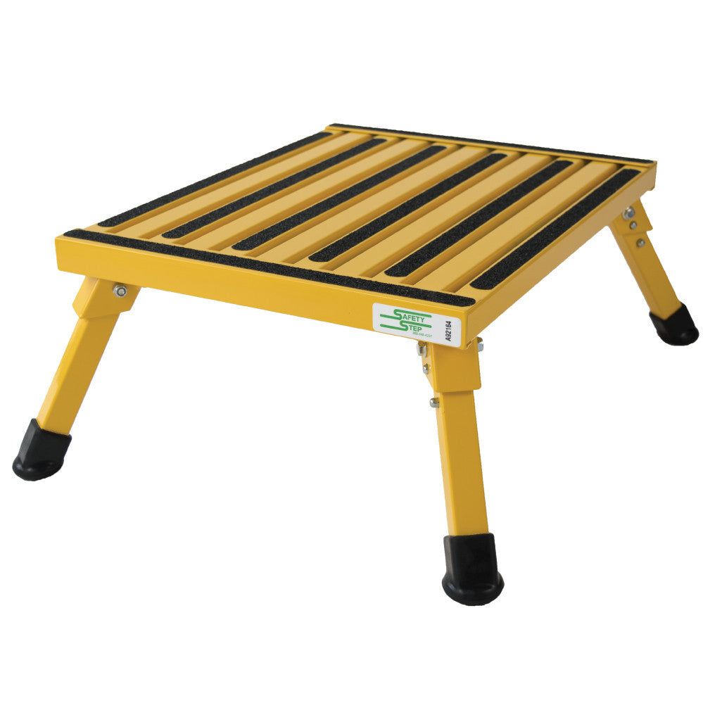 Safety Step Stool - Yellow
