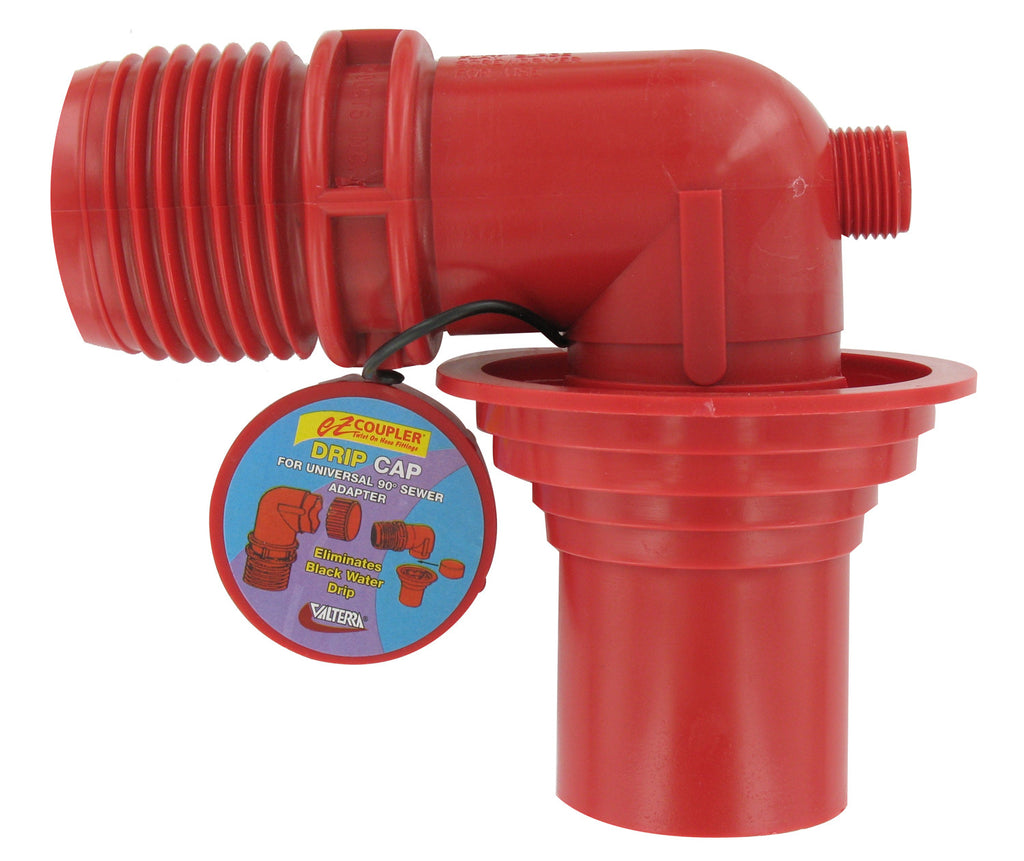 EZ Coupler Adapter for RV Sewer Hose 90 Degree