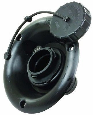 Gravity Fill for RV Fresh Water Inlet - Black
