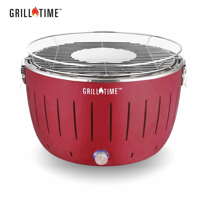 Grill Time Tailgater Portable Grill - Starter Pack - Red  UPG-R-13