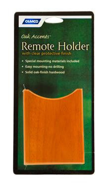 Remote Holder - Oak Accent