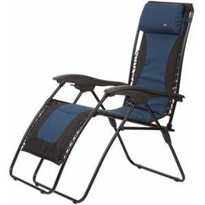 Laguna Recliner Padded - Blue/Black XL