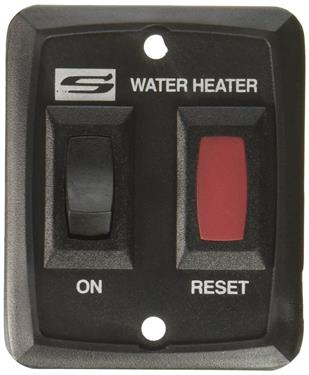 Suburban Water Heater On/Off Switch - Suburban - Black 232229, 620005, 234229