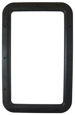 RV Entry Door Window Frame - Interior Frame Only