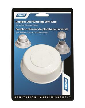 Replace All Plumbing Vent Cap - White