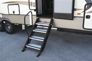 MorRyde RV Hand Rail - 4 Step Rail Only - STP214-006H