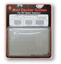Mud Dauber Insect Screen for RV Water Heater - 6 Suburban and 6/10 Atwood  W100