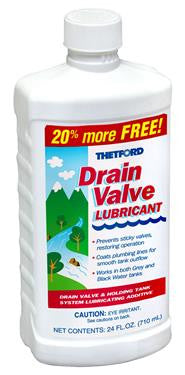 Thetford Drain Valve Lube for RV Toilet