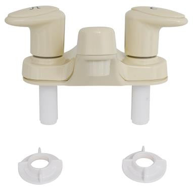 "Catalina 4"" RV Lavatory Faucet - Biscuit"
