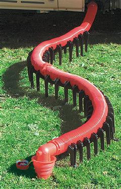 Slunky Support Cradle for RV Sewer Hose - 20' - Red
