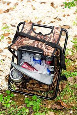 Camo Cooler/Stool/Backpack