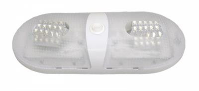 Pancake Interior RV LED Light/Double