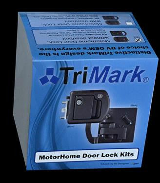 TriMark Motor Home Lock w/Deadbolt by RV Designer T507