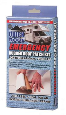 Quick Roof Emergency Rubber Roof Patch Kit - RR612