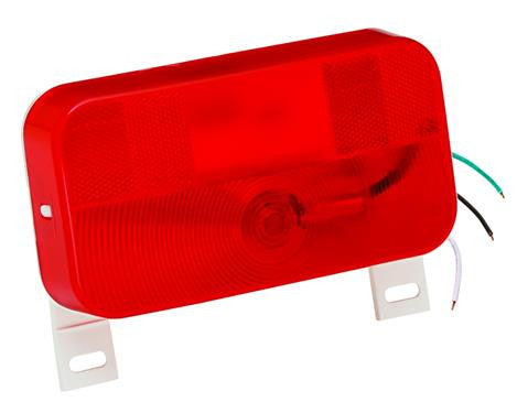 #92 Series - w/ License Bracket - Surface Mount Taillight