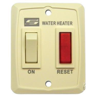 Nautilus Series Water Heater On/Off Switch - Suburban - Cream 232795