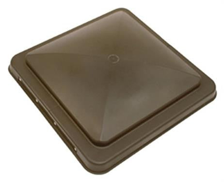 RV Roof Vent Replacement Lid - Smoke