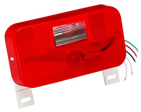 #92 Series - w/ Back-up - w/ License Bracket - Surface Mount Taillight