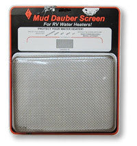 Mud Dauber Insect Screen for 10 gallon RV Water Heater - Suburban