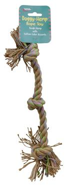 Hefty-Hemp Rope For Pets - 16""