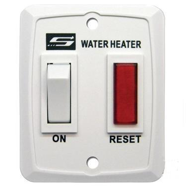 Nautilus Series Water Heater On/Off Switch - Suburban - White 232589,620006