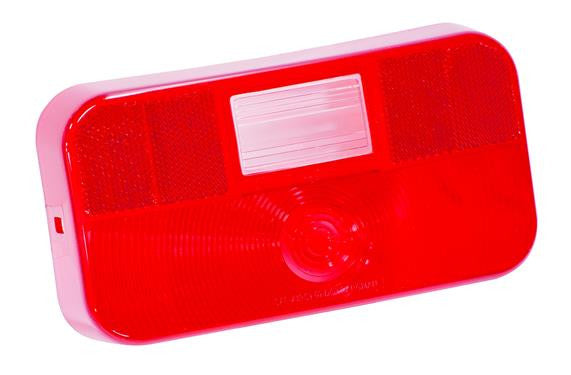#92 Series - Lens Only - w/ Back-up - w/ License Bracket  - Surface Mount Taillight