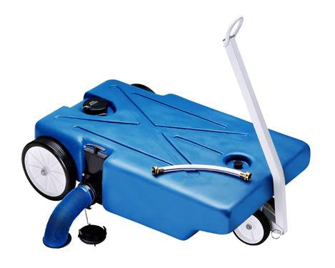 4 Wheeler Tote-Along Portable Holding Tank - 25 Gallon - 25895
