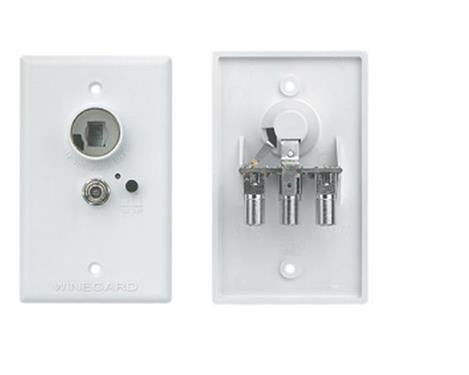 White Power Receptacle RV-7042