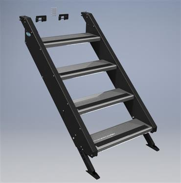 MorRyde Quick Connect Entry Step - 4 Step - STP54-012H