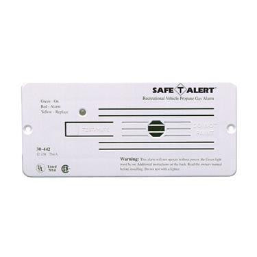 Flush Mount LP Gas Detector - White - 30-442-P-WT