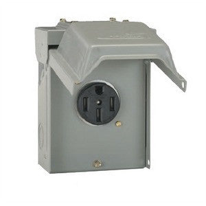 Electrical Box for RV Power Outlet - 50 Amp - U054P