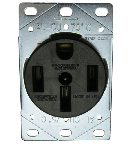 50A Female Receptacle