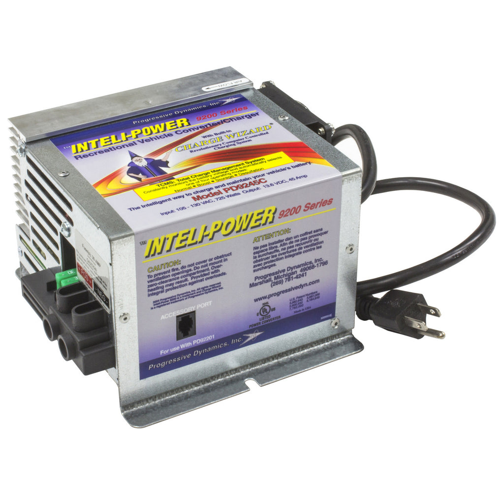 Inteli-Power 9200 Converter/Charger - 45 Amp - PD9245-CV