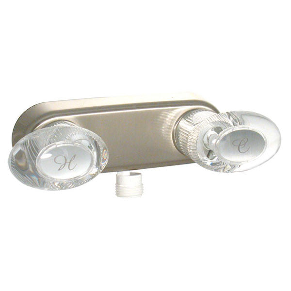 "Catalina 4"" Shower Valve RV Shower Fixture - Nickle"