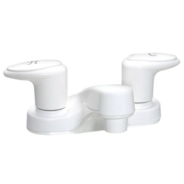 "Catalina 4"" RV Lavatory Faucet - White"