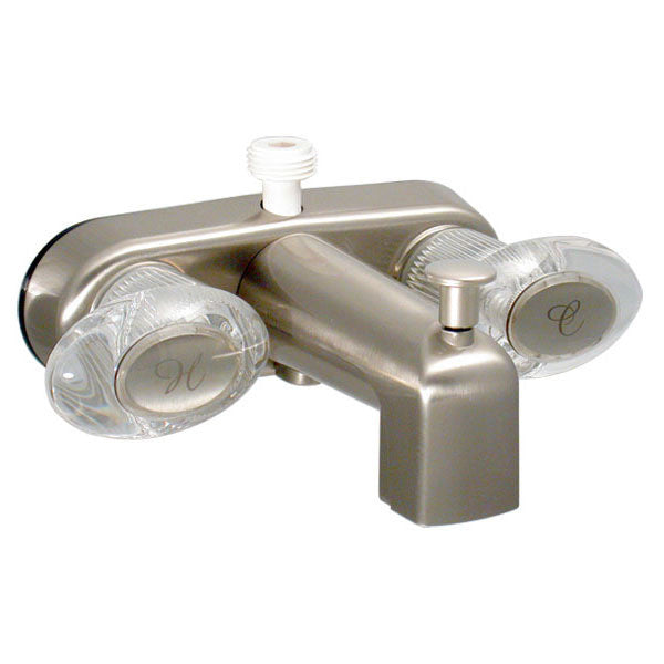 "Catalina 4"" RV Faucet Tub Diverter - Nickle"
