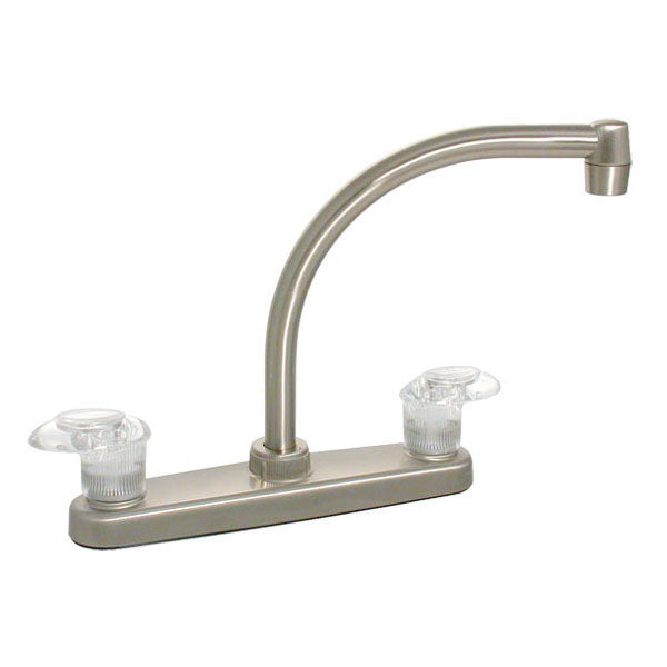 "Catalina 8"" RV Hi Arc Kitchen Faucet - Nickle"
