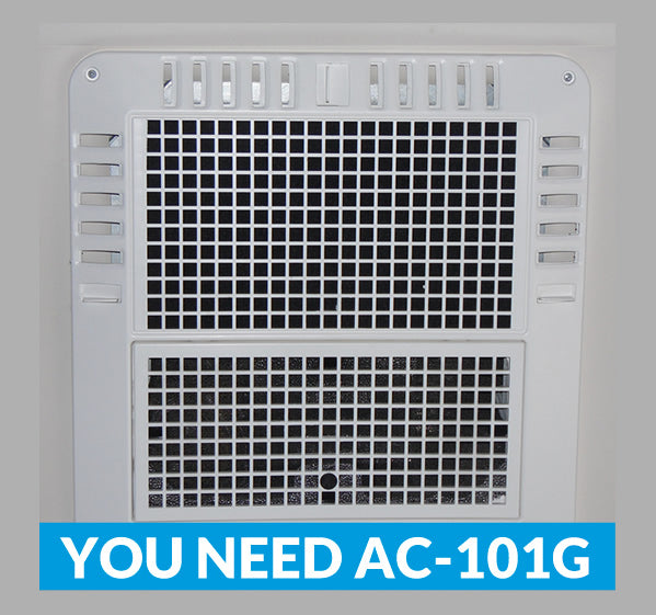 "Coleman Mach Air Conditioner Filter Replacement - 14"" x 6"" - AC101G"