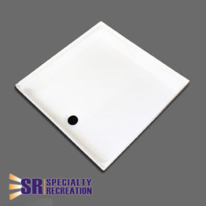"Shower Pan - White - 24"" x 24"" - SP2424W"