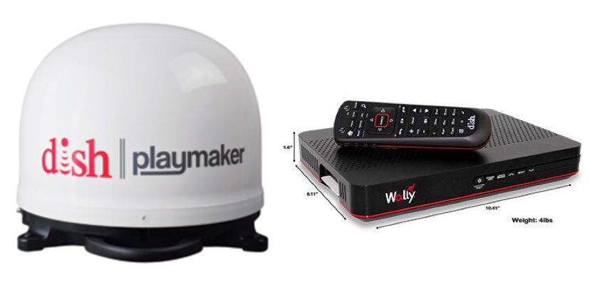Winegard Playmaker RV Satellite with DISH Wally Receiver  PL-7000R