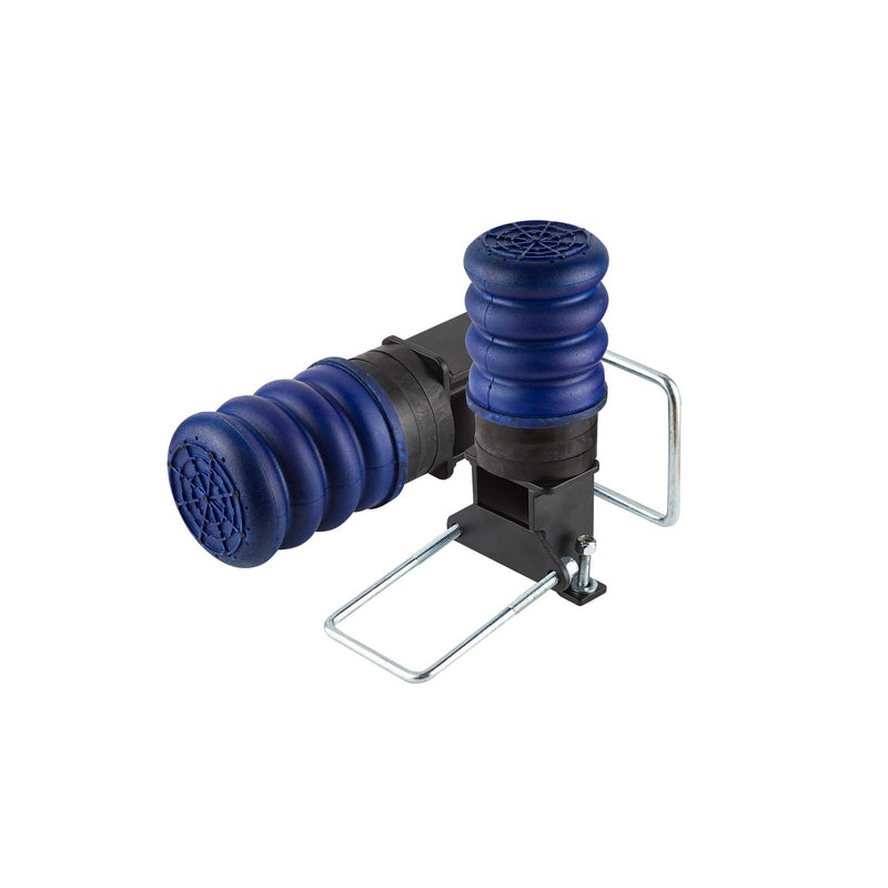 SumoSprings Trailer Axle - GAWR: 3000-5000 Spring-Under Axle Configuration - Includes Line Relocation Bracket - TSS-106-40